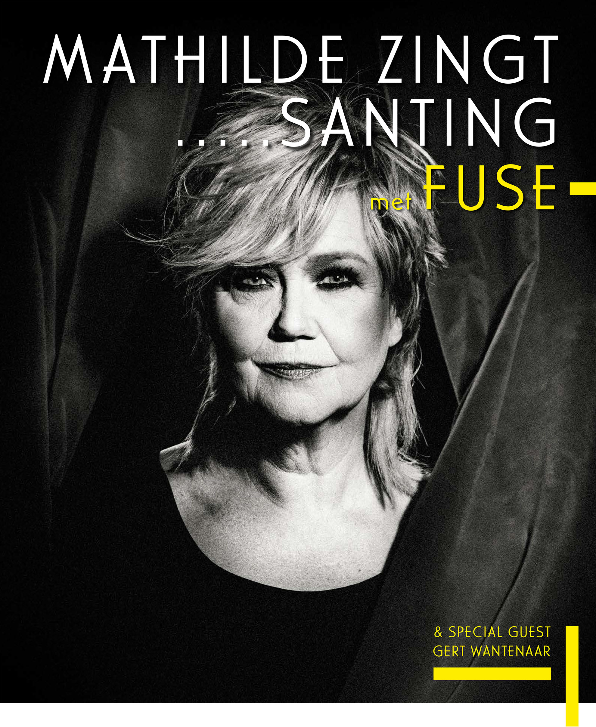 Tour poster - Mathilde Santing and Fuse